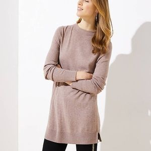 NWT LOFT Women's Funnel Neck Tunic Sweater